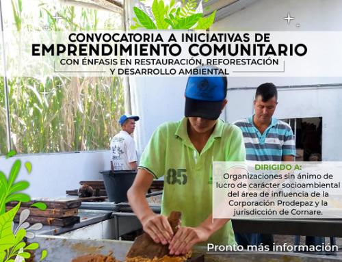 Convocatoria a Iniciativas de Emprendimiento Comunitario