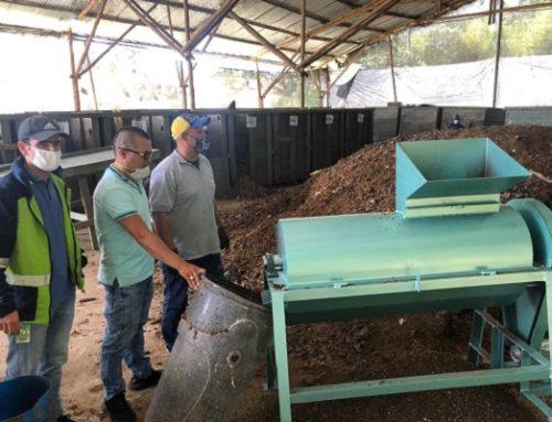 Molinos para procesar material orgánico, la apuesta de Cornare por continuar con el aprovechamiento de los residuos orgánicos