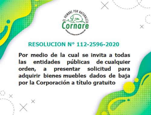 Resolución No 112-2596-2020