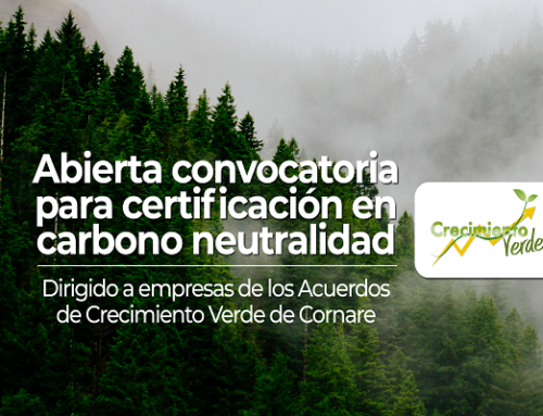 Convocatoria para certificación en carbono neutralidad