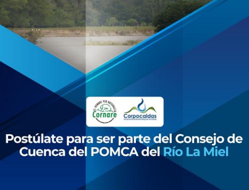 Aviso de Convocatoria Pública - Elección de Representantes del Consejo de Cuenca del Rio La Miel