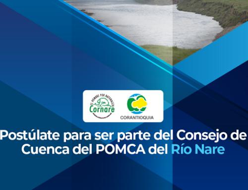 Aviso de Convocatoria Pública - Elección de Representantes del Consejo de Cuenca del Rio Nare