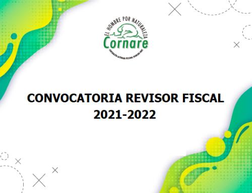 Convocatoria Revisor Fiscal de la Corporación 2021 - 2022