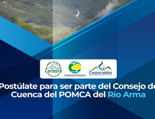 Aviso de Convocatoria Pública - Elección de Representantes del Consejo de Cuenca del Rio Arma