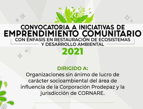 Convocatoria a Iniciativas de Emprendimiento Comunitario 2021