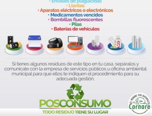 Más de 40 toneladas de residuos posconsumo esperan recolectar este año Cornare, las ESP y empresas de la región