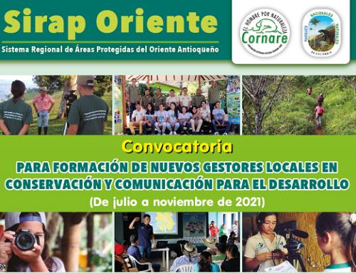 Convocatoria para formación de nuevos gestores locales en conservación y comunicación para el desarrollo