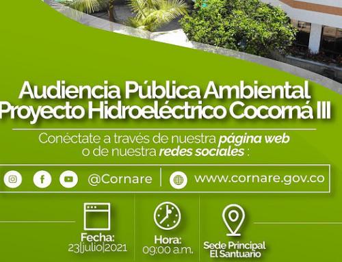 Audiencia Pública Ambiental Proyecto Hidroeléctrico Cocorná III