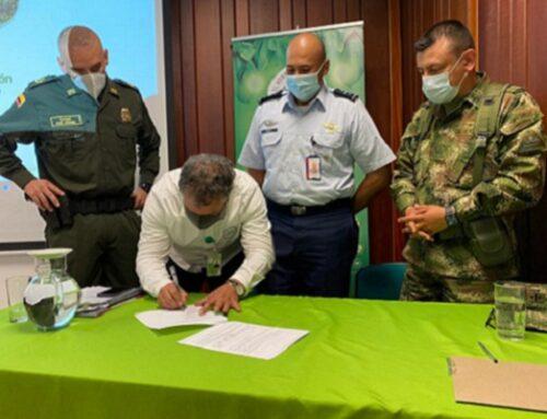 Cornare y Autoridades Militares y de Policía ratifican compromiso para fortalecer la protección de los recursos naturales
