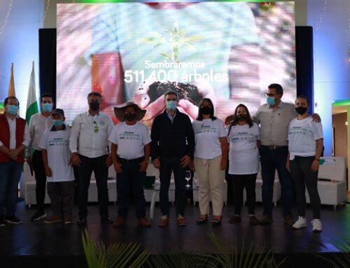 Firmamos acuerdo con Ministerio de Ambiente y Masbosques, para restauración de ecosistemas a través de 560 familias BanCO2